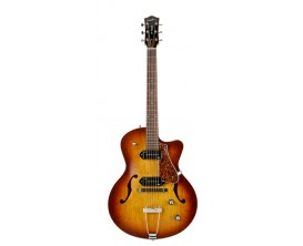 GODIN 5th Avenue Kingpin II P90 - Guitare Archtop, 2 micros P90, Cutaway, Cognac Burst, avec softcase Tric