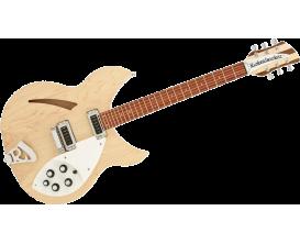 RICKENBACKER 330MG - Guitare Demi-caisse érable Naturel, avec étui