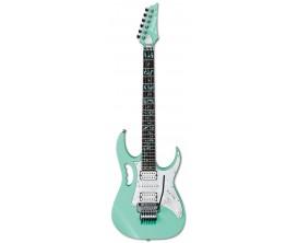 IBANEZ JEM70V-SFG - Guitare Electrique Signature Steve Vai Jem Universe - Sea Foarm Green (Avec Etui)