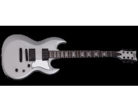 SCHECTER 817 S-II Platinum - Guitare électrique corps acajou, Manche érable 3 pièces collé, Touche ébène, Micros EMG 57 + EMG 66