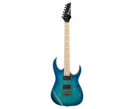 IBANEZ RG421-AHM BMT - Guitare Electrique RG, Corps Frêne, MN, 2 Humbuckers, chevalet fixe, Blue Moon Burst