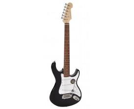 """RICHWOOD REG-322-MBK - Guitare électrique """"Santiago Standard"""", type strat, Corps Oukoume, Manche érable canadien touche palissan"""