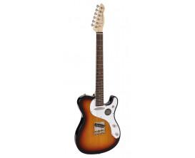 """RICHWOOD REG-362-3SB - Guitare électrique """"Buckaroo Standard"""", type tele, Corps Oukoume léger, Manche érable touche palissandre"""