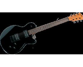 LAG I66-BLK - Guitare électrique série Imperator, noir