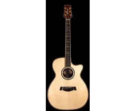 TIMBERLINE T80Cc - Guitare Acoustique Format Concert, pan coupé, tout bois massif, corps Palissandre Premium, table épicéa Sitka