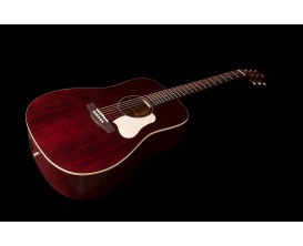 ART&LUTHERIE Americana Tennessee Red - Guitare Dreadnought acoustique, table massive épicéa, Tennessee Red