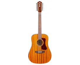 GUILD D-1212 Westerly - Dreadnought 12cordes, Corps et table acajou massif, Naturel, avec étui