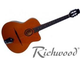 RICHWOOD RM70 NT Guitare Manouche petite bouche - Naturel