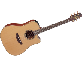 TAKAMINE P3DC - Dreadnought Electro Cutaway, Preamp CT-4BII, Table & dos massifs, Pro Serie JAPON (Avec étui)