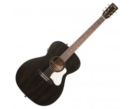 ART&LUTHERIE Legacy Faded Black - Format Concert, électro-acoustique QIT, Finition Faded Black
