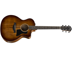 TAYLOR 224CE-K DLX - Grand Auditorium Deluxe, Table Koa massif, Corps Koa, ES-2, Shaded Edgeburst (Avec étui Deluxe)