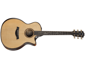 TAYLOR K14ce Builder's Edition - Grand Auditorium Hawaiian Koa, V-class bracing, Cutaway, Expression System 2 (Avec Etui Deluxe)