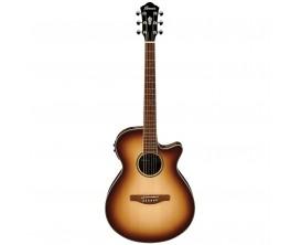 IBANEZ AEG10II-NNB - Guitare électro-acoustique, Table épicéa, corps sapélé, Natural Brown Burst