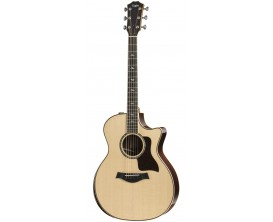 TAYLOR 814ce DLX - Modèle Deluxe, East Indian Rosewood Grand Auditorium ES2, V-Class Bracing, Armrest (Avec Etui Premium)