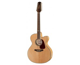 TAKAMINE GJ72CE-12NAT - Guitare 12 cordes électro-acoustique type Jumbo, naturel