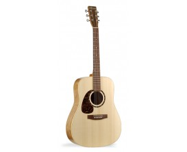 NORMAN B18LE - Dreadnought GAUCHER Electro Acoustique Fishman Presys, Table cèdre, Naturel (+ BAG UNIVOX)