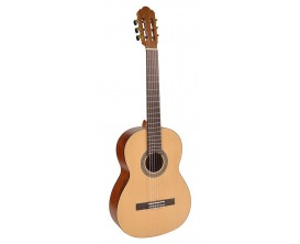 SALVADOR CS-244 - Guitare classique 4/4, Table épicéa, corps sapele, naturel satiné