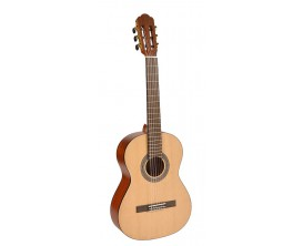 SALVADOR CS-234 - Guitare classique 3/4, Table épicéa, corps sapele, naturel satiné
