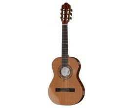 HOFNER Carmencita 504 1/2 - Guitare Classique 1/2 étude, table massive cèdre, Corps et manche Acajou, mécaniques Gold
