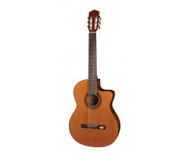 SALVADOR CORTEZ CC-22CE - Guitare Classique Electro CW 4/4, Corps sapélé, Table massif cèdre *