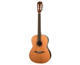 HOFNER HA-CS28 - Guitare classique électro B-Band, Cordes ACIER, Made in Germany, Naturel