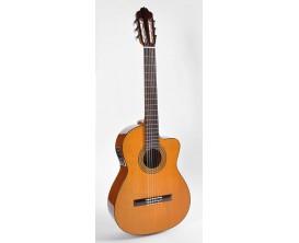 ESTEVE Mod. 3ECE - Guitare classique 4/4 électro-acoustique, Table cèdre massif, Corps sapélé pan coupé, Naturel