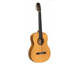 SALVADOR CORTEZ CF-55 - Guitare Flamenco 4/4, Table épicéa massive, Corps Sycamore
