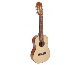 SALVADOR CORTEZ TC-460 - Guitarlele Naturel en housse (accordage A D G C E A)