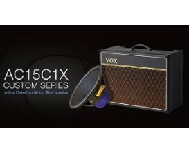 "VOX AC15-C1X - Combo Lampes 15 Watts 1X12"" Celestion Alnico Blue"