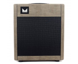 "MORGAN PR12C Driftwood - Combo 12 watts tout lampes avec Reverb, 1x12"" Greenback, finition Driftwood"