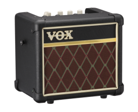 VOX MINI3 G2 CL - Ampli 3 watts à modélisations, finition Classic