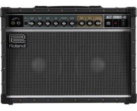 """ROLAND JC-40 - Ampli Guitare éléctrique Jazz Chorus 40W, 2x10"""", entrée mono ou stéréo, vrai traitement stéréo (pédales etc)"""