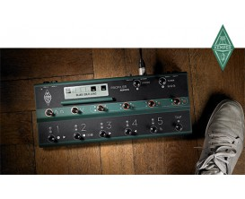 KEMPER Profiler Power Rack Black + Remote - Version rack amplifiée, Pack avec pédalier