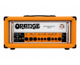 ORANGE RK50H MKIII - Rockerverb 50 Watts Head, all tubes, Made in UK, Mark III