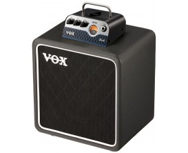 VOX MV50RO SET - Stack guitare, tête ROCK 25/50watts (4/8 Ohms) technologie Nutube + Baffle 1x8""