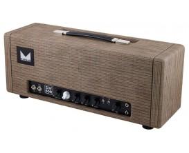 MORGAN SW50R Driftwood - Tête 50 watts tous lampes, avec Reverb, finition Drift Wood