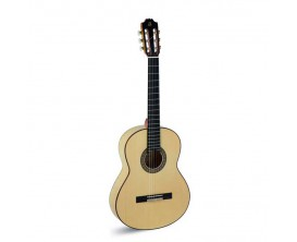 ADMIRA F4 - Guitare classique Flamenca 4/4, table épicéa massif, corps cyprès, fabrication espagnole