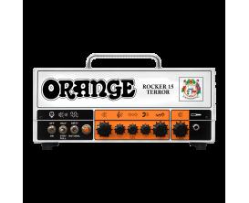 ORANGE Rocker 15 Terror - Tête tout lampes 2 canaux 15 watts (mode 15 / 7,5 / 1 ou 0.5 watts)