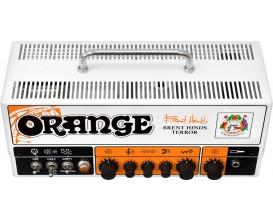 ORANGE Brent Hinds Terror - Tête tout lampes 2 canaux 15 watts (mode 15 / 7,5 / 1 ou 0.5 watts), modèle Signature Brent Hinds