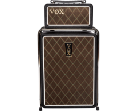 VOX MSB25 - Stack Mini Super Beetle, tête 12.5/25/50watts (16/8/4 Ohms) technologie Nutube + Baffle 1x10""