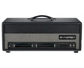 SYNERGY SYN-50 - Tête tout lampes 50 watts, emplacement pour 2 modules de preampli (4 canaux), vendu SANS module, footswitch fou