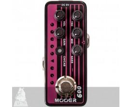 MOOER Micro Préamp - 009 Blacknight. Préamp numérique basé sur l'ampli Engl Blackmore