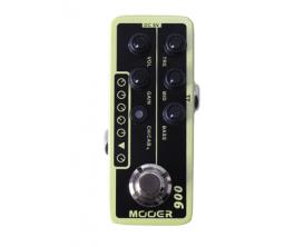 MOOER Micro Préamp - 006 US Classic. Préamp numérique basé sur l'ampli Fender Blues Deluxe