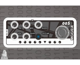 MOOER Micro Préamp - 005 Fifty-Fifty 3. Préamp numérique basé sur l'ampli EVH 5150