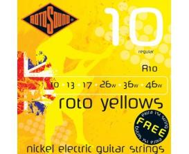 ROTOSOUND R10 YELLOW REG 10-46