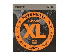 D'ADDARIO EPN110 PURE NICKEL REG LIGHT 10-45