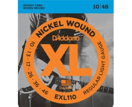 D'ADDARIO EXL110 LIGHT 10-13-17-26-36-46