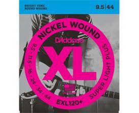 D'ADDARIO EXL120+ PLUS JEU ELECT SUPLIGHT PLUS0095-44