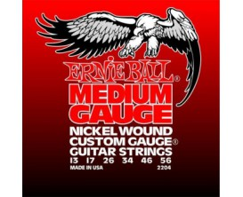 ERNIE BALL 2204 - Electric Medium Gauge 013-056 *