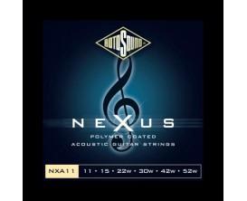 ROTOSOUND NXA11 NEXUS COATED PHOSPHOR BRONZE 11-52*